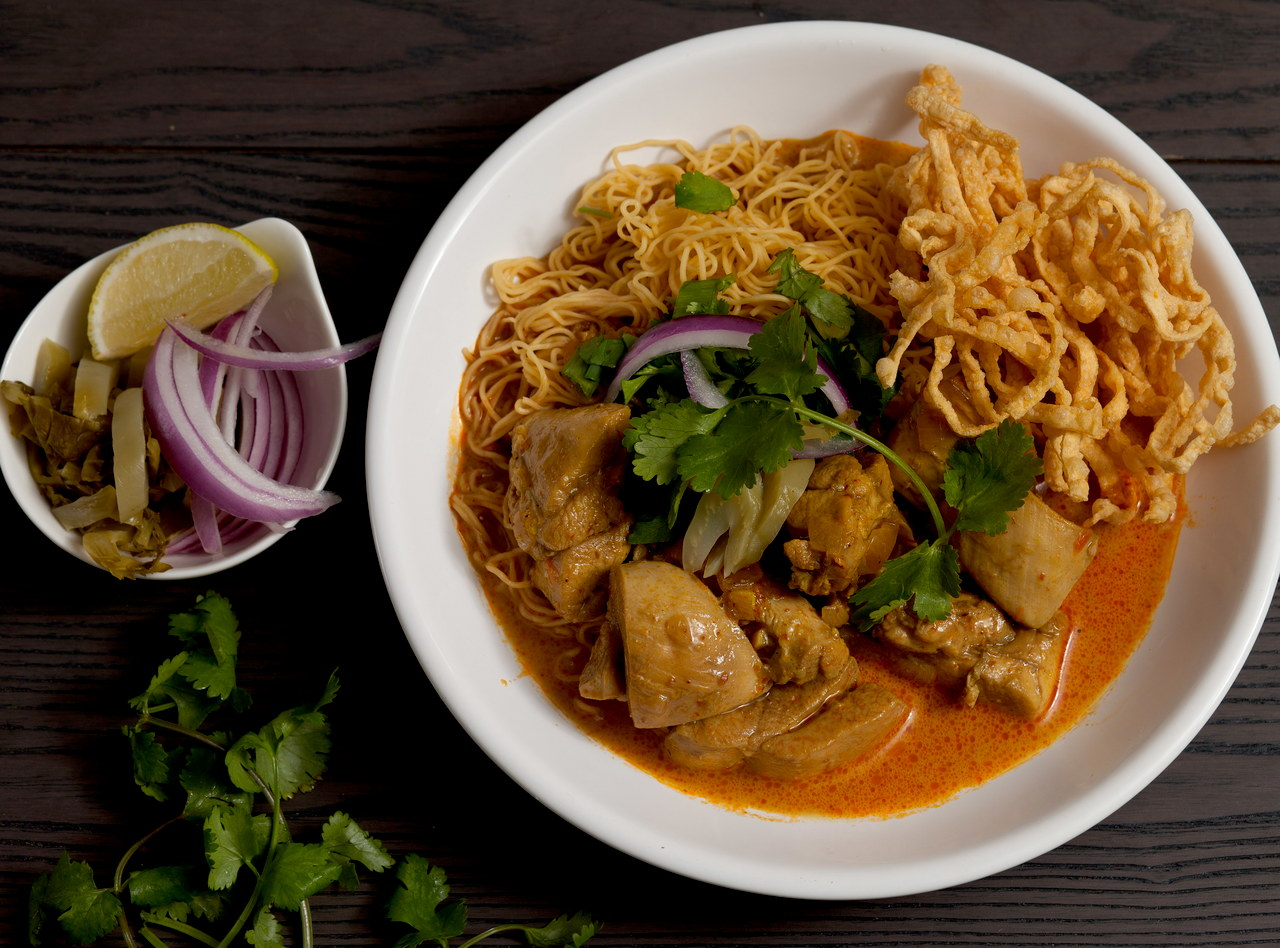 Khao Soi with Chicken by Chef Tanya Jirapol