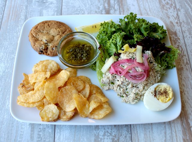 Tuna Salad Box by Chef Ericka Burke