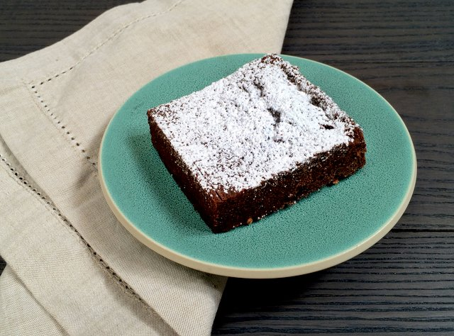 Almost-Flourless Fudge Brownie by Macrina Bakery