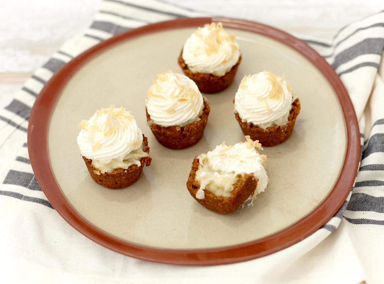 Coconut Cream Pie Bites by Chef Diane Conley