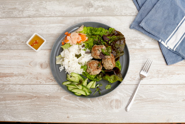 Lemongrass Pork Meatballs by Chef Steve Shafer
