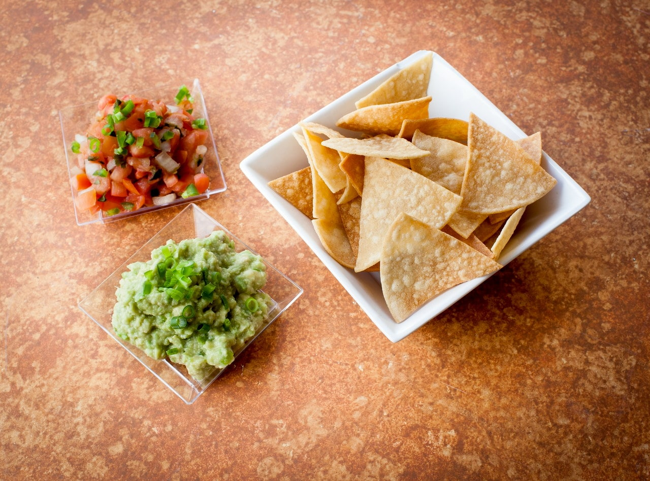 Homemade Guacamole, Salsa and Chips by Chef Amanda Sue