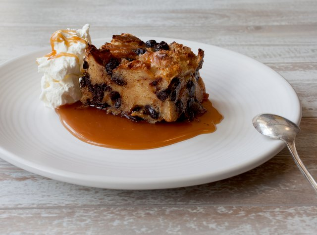 Chocolate Toffee Bread Pudding by Chef Ericka Burke