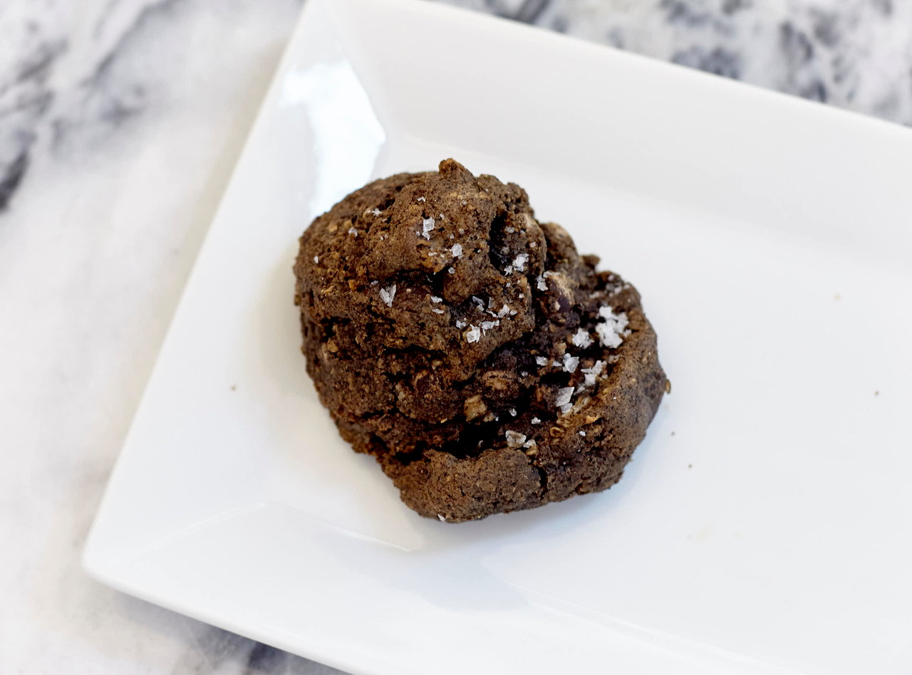 Buckwheat Snail Cookie by Chef Colleen Kerr