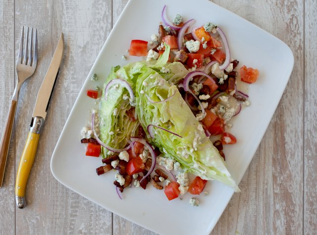Classic Wedge Salad by Chef Aaron Strauss