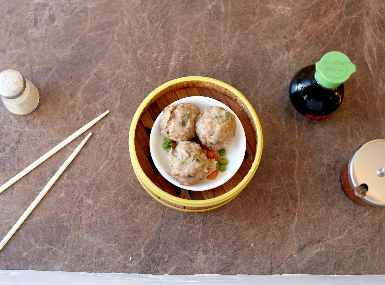 Steamed Beef Balls by Chef Han Ma