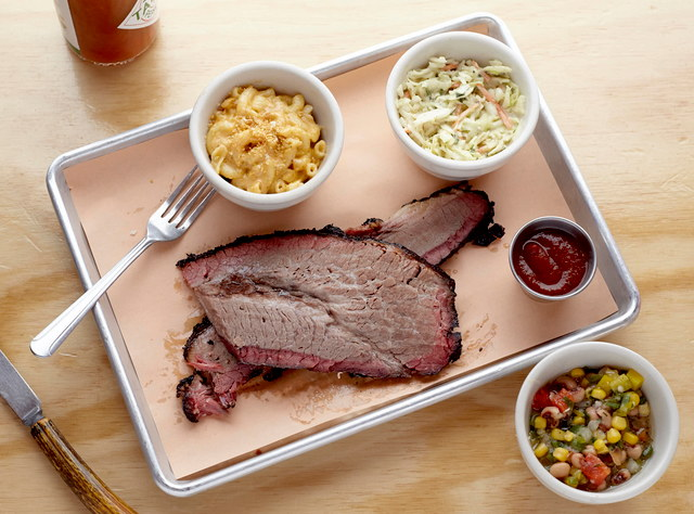 BBQ Brisket Plate by Chef Jack Timmons