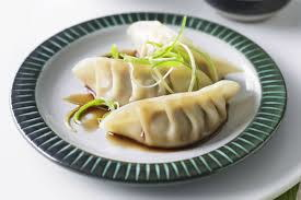 Chicken Gyoza with Dipping Sauce by Chef Yoyo & Tim King