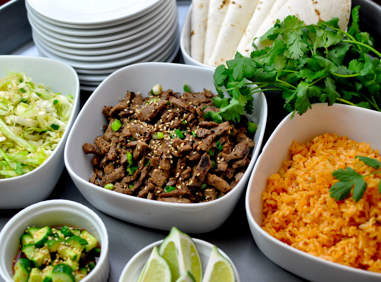 Ginger Pork Bulgogi Taco by Chef Kay Kim
