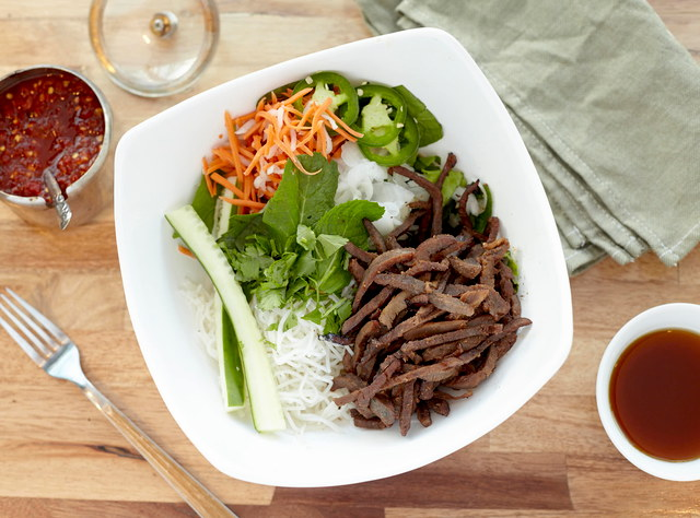 Steak Rice Bowl by Chef John Tran