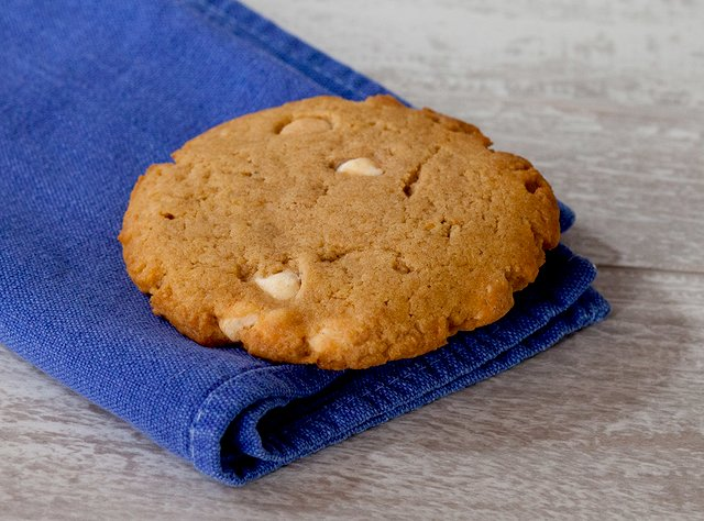Pumpkin White Chocolate Chip Cookie by Chef Keith Hubrath