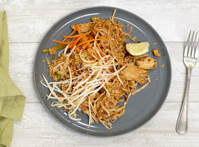 Chicken Phad Thai by Chef Pik Kookarinrat