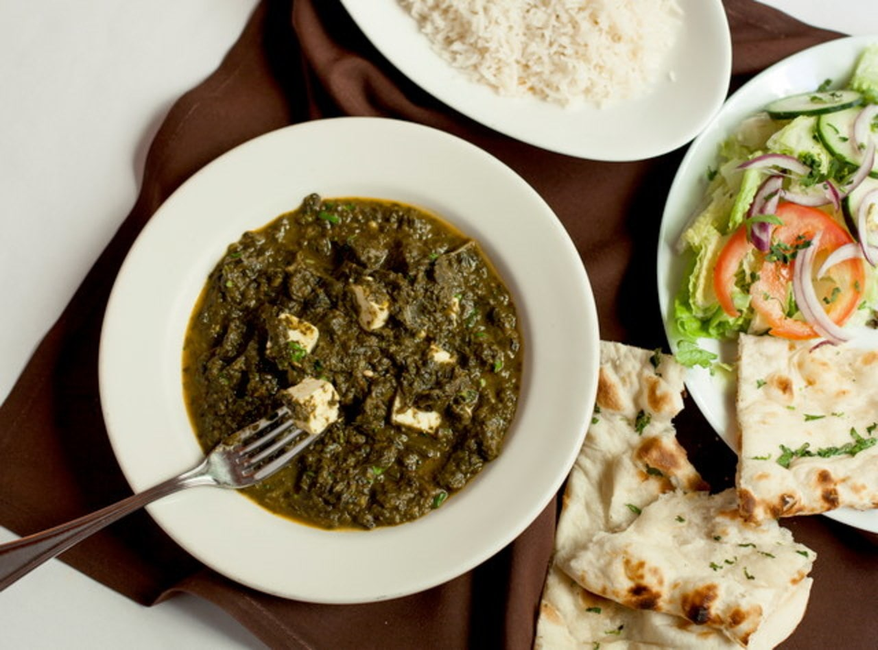 Palak Paneer Boxed Lunch by Chef Baldev S. Manhani