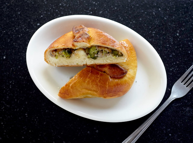Piroshki with Beef, Broccoli & Cheese by Chef Aly Anderson