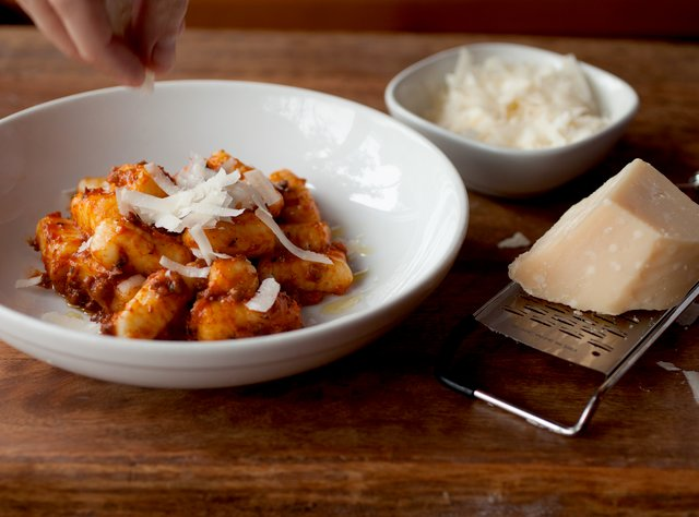 Gnocchi Bolognese with Pecorino by Chef Ethan Stowell