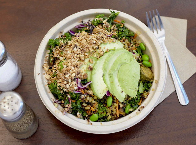 Buddha Bowl with Egg by Sweetgrass