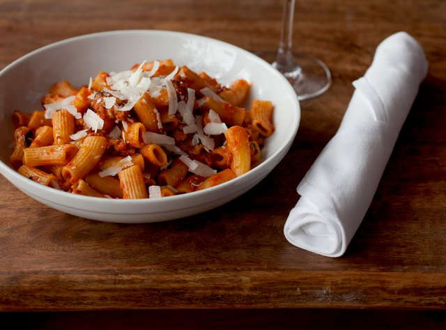 Rigatoni with Spicy Italian Sausage by Chef Ethan Stowell