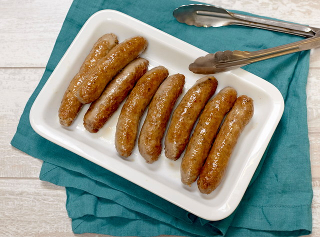 Side of Breakfast Sausage Links by Chef Natalie Lamberjack