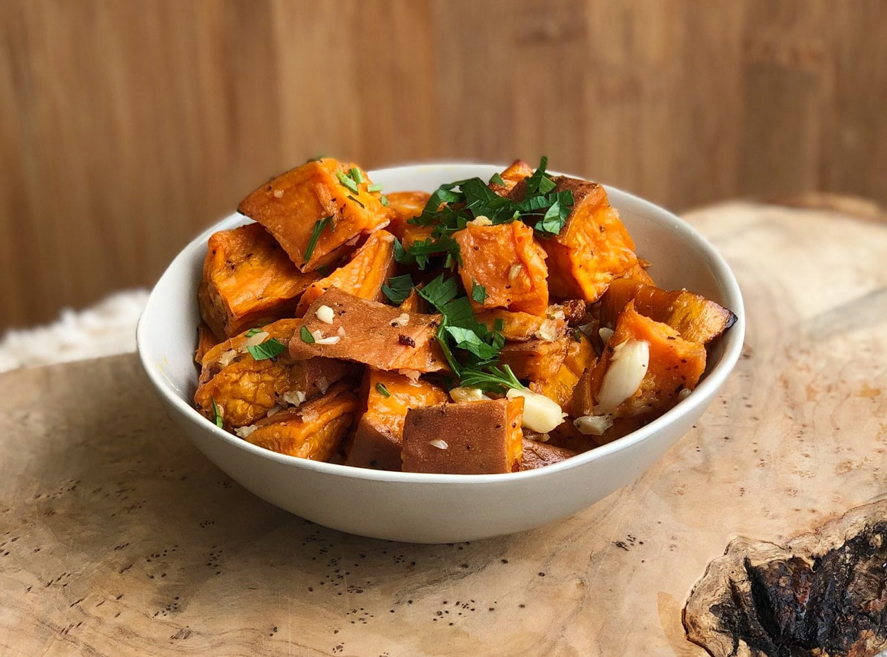 Roasted Sweet Potatoes by Chef Matthew Hunt