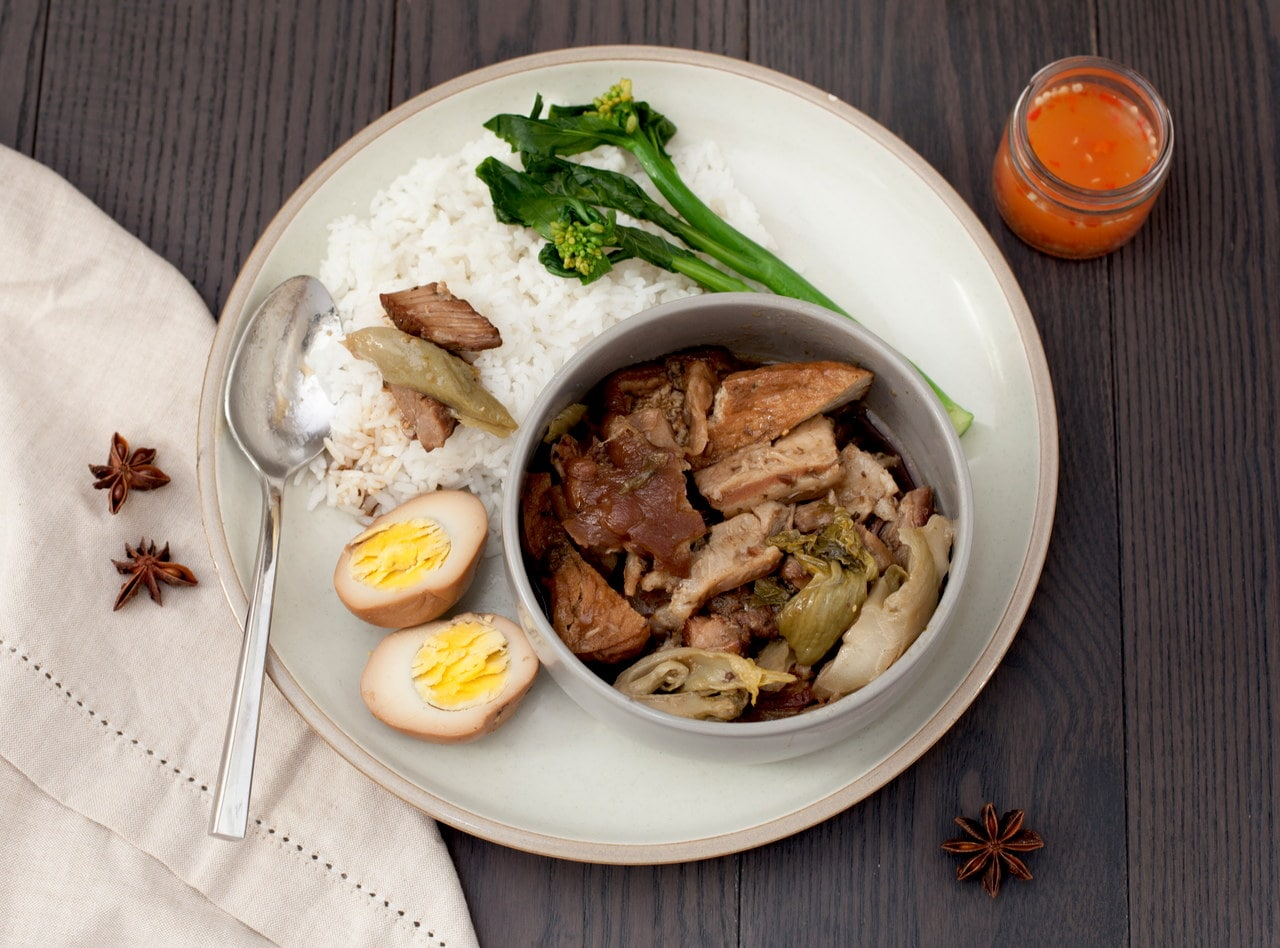 Thai-style Braised Pork by Chef Tanya Jirapol