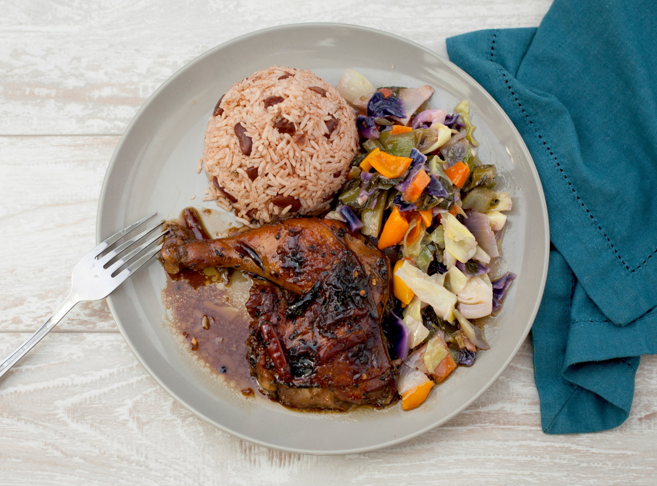 Roasted Sesame Chicken by Chef Jermain Andrew Blake