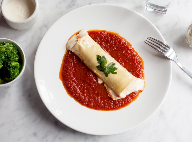 Kid's Cannelloni by Chef Ron Anderson