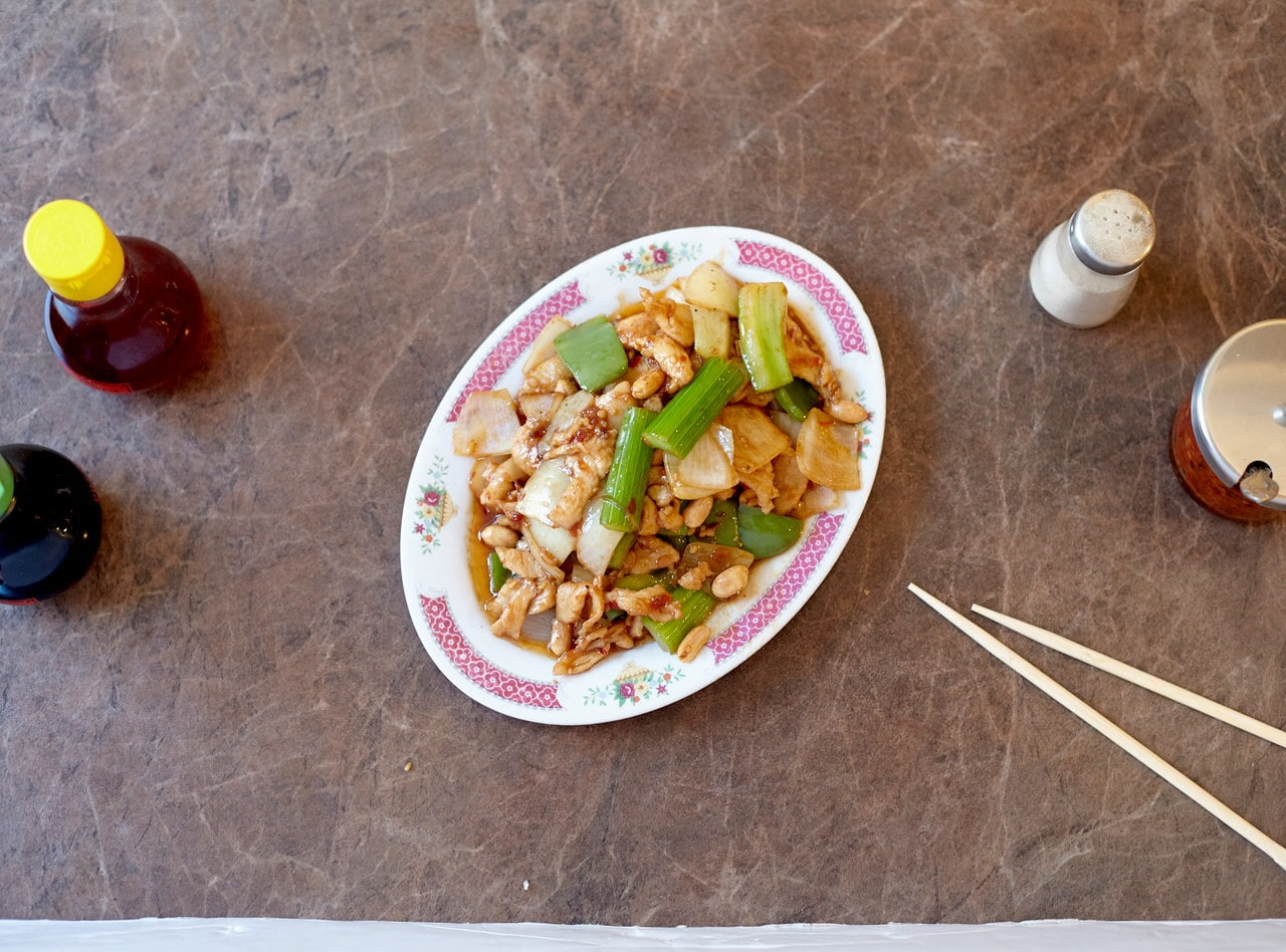 Kung Pao Chicken by Chef Han Ma