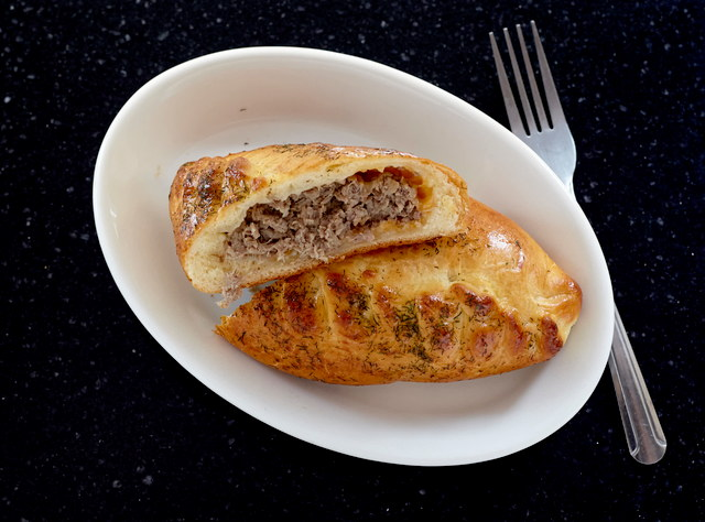 Piroshki with Garlic Beef Asado by Chef Aly Anderson