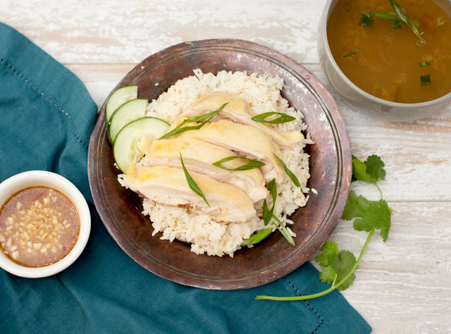 Thai-style Chicken and Rice by Chef Tanya Jirapol