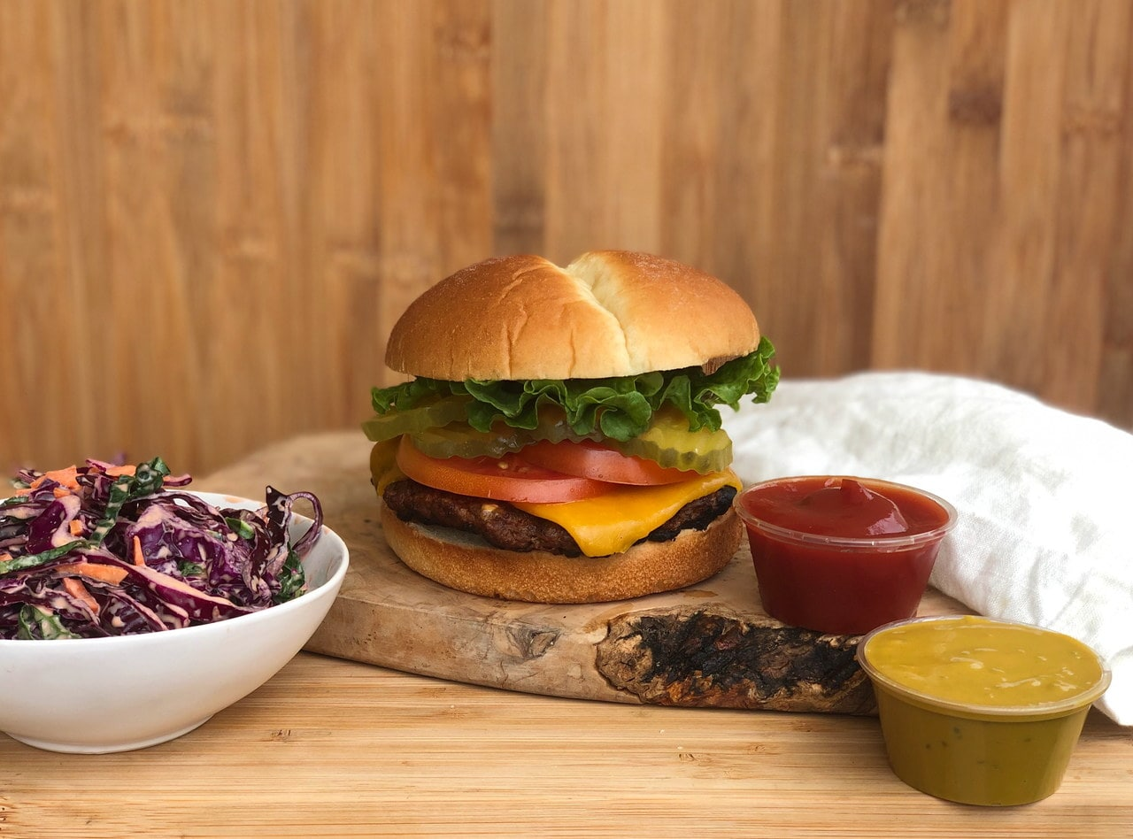 Vegetarian Beyond Burger™ Meal by Chef Matthew Hunt