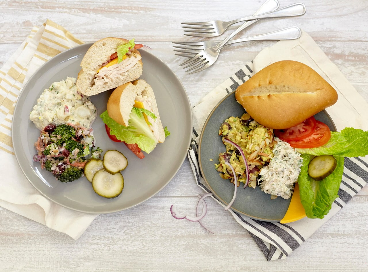 Build-Your-Own Sandwich Bar with Chicken Salad by Chef Jenn Strange