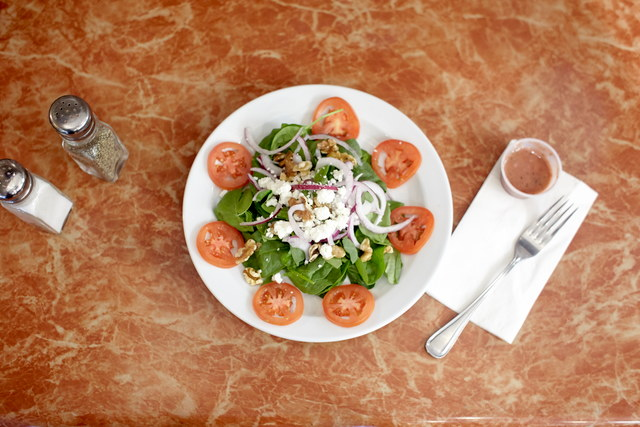 Spinach Salad with Raspberry Vinaigrette (serves 16) by Chef Amir Razzaghi